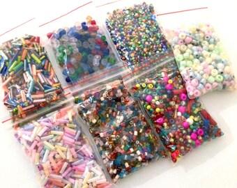 assortment 105GR seed bead MIX varieties