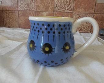"Scandi"" soup mug(s)  A roomy, Scandanavian inspired mug with a sunny disposition!"