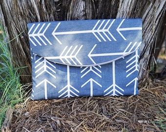 CLEARANCE - Large Foldover Clutch Purse