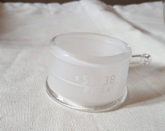 Pyrex Lab Glass / # 55/38 / Cooling Ring / Vintage / Scientific Glass / A MUST