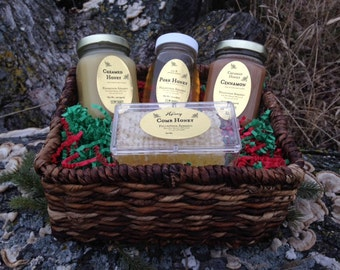 BEEHIVE Honey gift basket