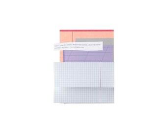 Mini Letter Writing Set, Stationery Set, Stationery Paper Set, Small Letter Set, Letter Set, Writing Paper, Letter Paper, Envelopes, Purple