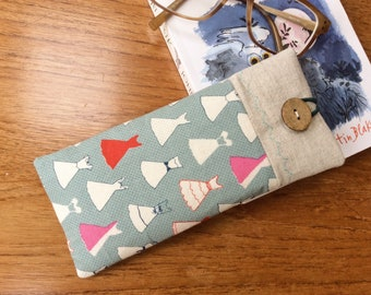 Glasses sleeve, spectacles cover, sunglasses case, dresses, soft case