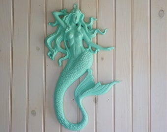 Mermaid Wall Decor   Little Mermaid   Mermaid Style   Coastal   Home   Decor