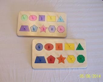 Geometric shape puzzle