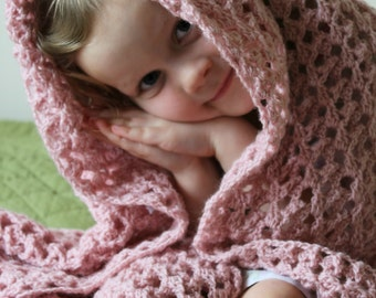 Download Now - CROCHET PATTERN Dancing Shells Blanket - Make to Any Size - Pattern PDF