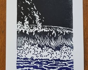 Pacific Wave Print