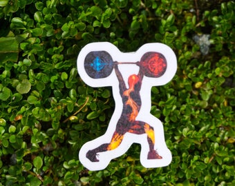 INNER STRENGTH / TRAINING lifting Sticker