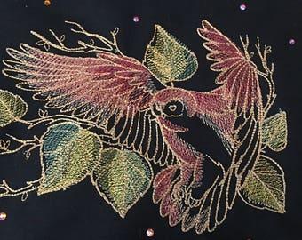 Autumn Owl Embroidery