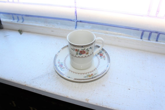 Royal Doulton Kingswood Demitasse Cup and Saucer Vintage Bone China Made in England