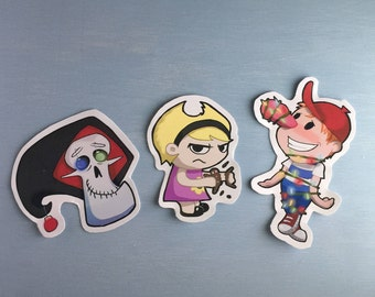 Holiday Grim Adventures of Billy and Mandy Stickers