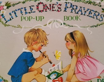 Children's Sweet Prayer Book: Little One's Prayers Children's Pop-Up Book By Dean. Vintage and Great Condition! Beautiful book of prayers!