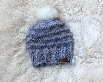 Custom Knit Hat / Knit Hat / Handmade Hat / Knit Hat Women's / Chunky Knit Hat / Chunky Knit Hat Women / Chunky Hat / Chunky Knit Beanie