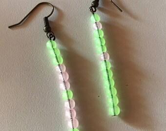 Bohemian Glow Design Glow-in-the-Dark Earrings