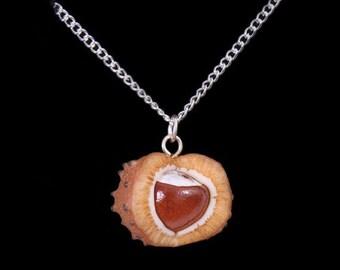 Autumn Horse Chestnut (Conker) Necklace