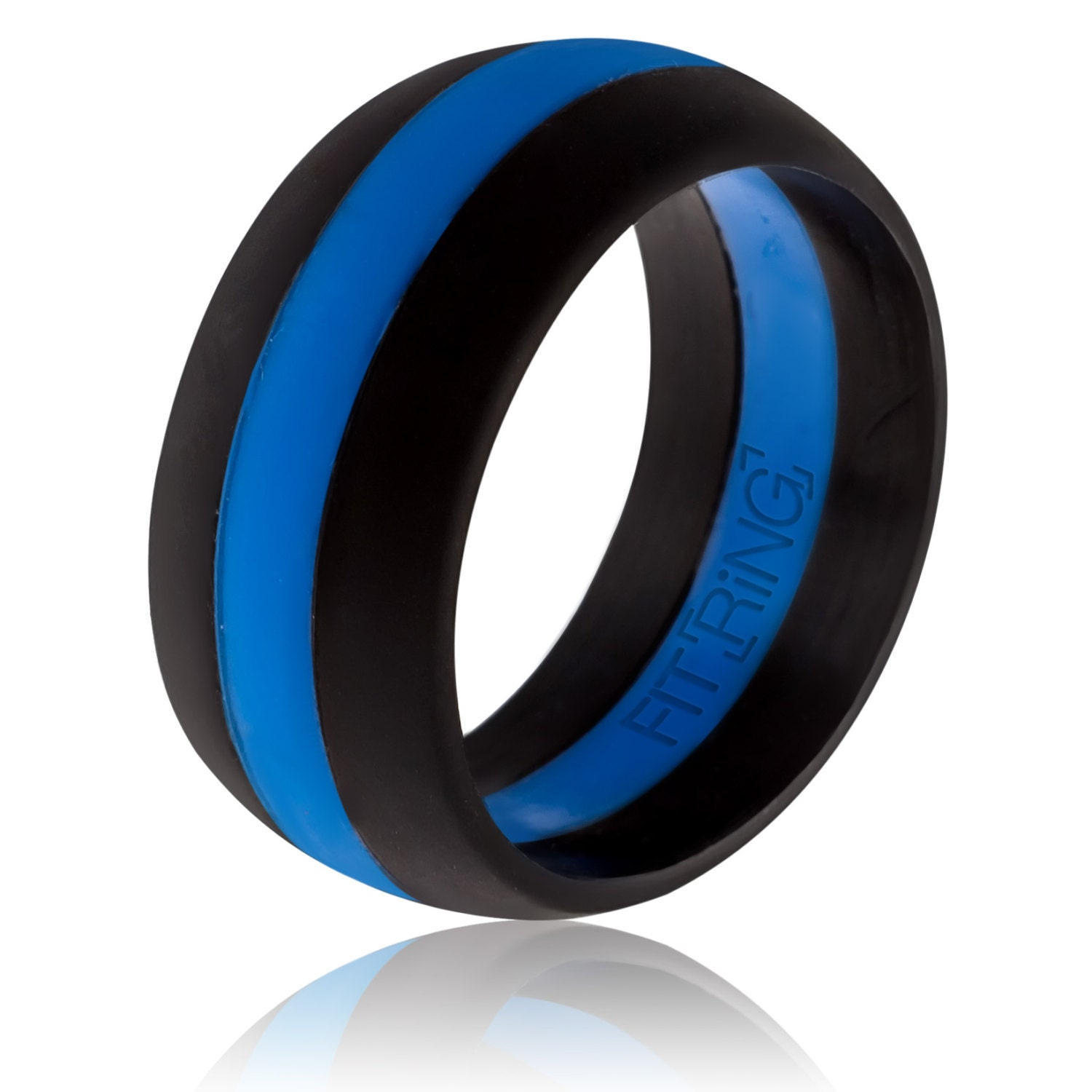 thin powered enforcement ring line wedding arthletic womens by s safe media silicone blue law women fit rings band