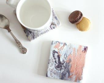 Jackal Buzzard - Stone Tile Coaster