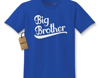 Kid's Big Brother Shirt Printed Youth Family T-shirt #1002