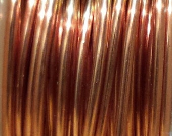 COPPER Wire ROUND 99.9% Pure 20 or 40 Feet in 20 Foot Coils Gauges 18-30 Dead Soft Bare USA Made 131667788599