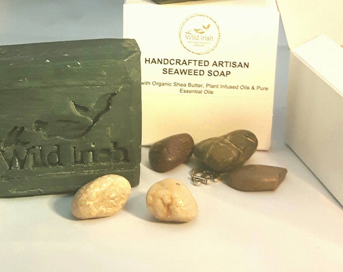 DETOX SOAP with Neem & T Tree. Activated Charcoal. Vegan. No palm oil, artificial colours or scents.