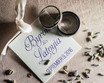 Personalized Wedding Tags, Wedding Favor Tags, Custom Favor Tags  (SQ-054)