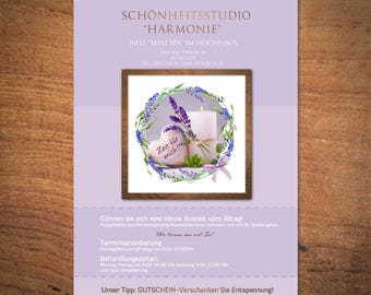 Personalized Flyer Din A6