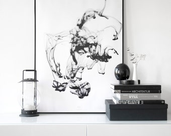 SMOOTH … black Artprint A3 Poster