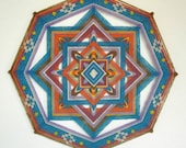 Crossroads of Life, 24 inches, 8-sided Ojo de Dios, in stock by Jay Mohler