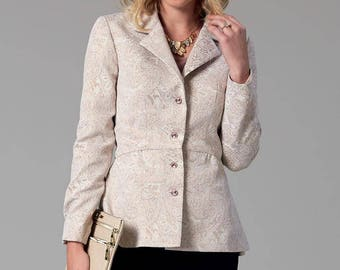 By McCall's M7513 jacket sewing pattern