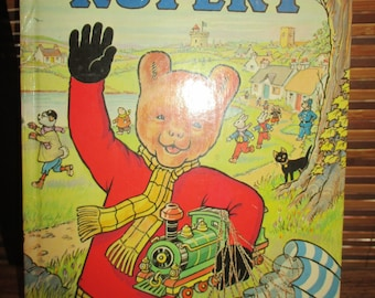 Vintage Rupert the Bear Annual 1976 Daily Express Annual