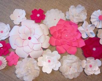 15 decoration table, wedding decoration, centerpiece, tableware, decorative flowers, wedding, paper flowers