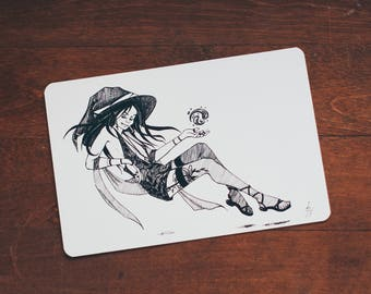Vampire Witch - card size print