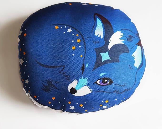 Blue Fox- Finegan Starlight decorative pillow