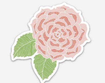 Vinyl Flower Sticker