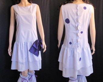 Pokemon Female Nidoran Lolita Cosplay Costume Custom Fit Adult Women's Size 4 6 8 10 12 14