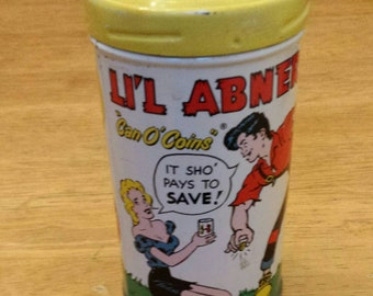 1953 Lil' Abner Coin Bank