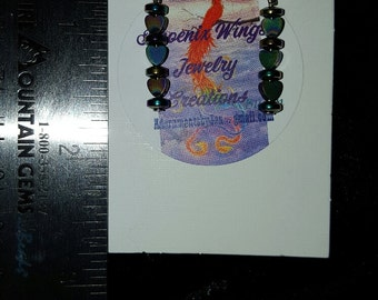 Black Rainbow earrings