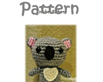 MyLittleZooFriends Series - Cola Koala (PDF Pattern)