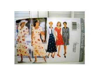 Butterick Dress Pattern 4336 - Uncut
