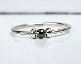 Worry Ring Meditation Ring Fidget Ring Anxiety Ring Spinner Ring Stress Ring Anxiety Jewelry Yoga Ring Worry Jewelry Fidget Jewelry Anxiety