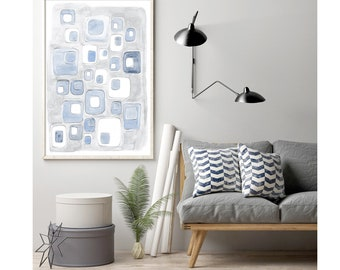 Abstract wall art, abstract painting, large wall art, large abstract art, abstract watercolor, watercolor art, modern abstract art, wall art