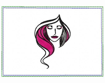 Modern Ladies 05B Small Money Purse - In The Hoop Machine Embroidery Design