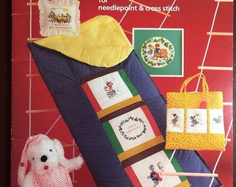 MAYniaSALE Martha McKerr's Shenanigans, Vintage, 1979, Charted designs for Needlepoint and Counted Cross Stitch pattern book