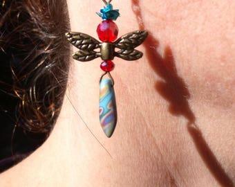 Queen of Dragonfly earrings