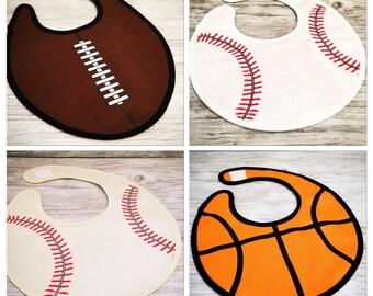 Personalized Bibs/ Sports Bibs/ Football Bib/ Baseball Bib/ Softball Bib/ Soccer Bib