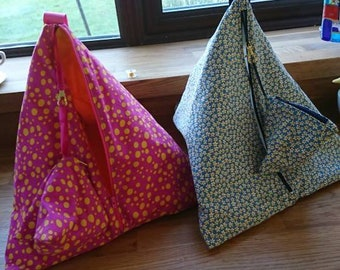 Knitting bag. Sewing bag. Craft bag