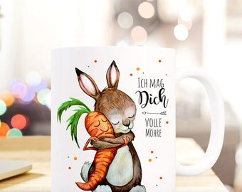 Gift coffee cup Bunny love full carrot TS362