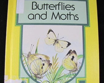 Butterflies and Moths // Read About Animals // 1977 Hardback //  ISBN 0839300107