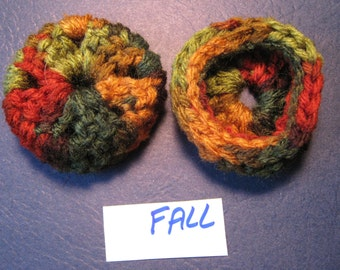 Autumn Ear Pads/Cushions/Cookies for Phone Headset, Call Center, Hand-made, NEW.