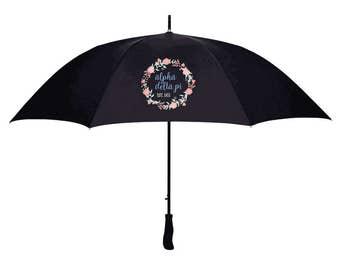 Alpha Delta Pi Floral Umbrella